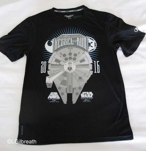Star Wars Dark Side Kessel Run shirt