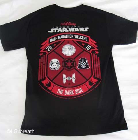 Star Wars Dark Side weekend shirt