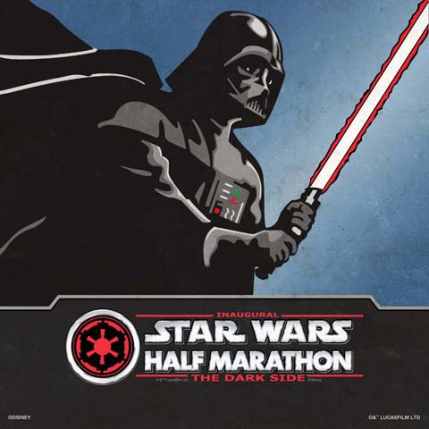 Star Wars Dark Side Half Marathon