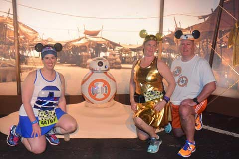 Star Wars Half Marathon - The Dark Side BB-8