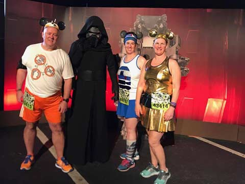 Star Wars Half Marathon - The Dark Side Kylo Ren