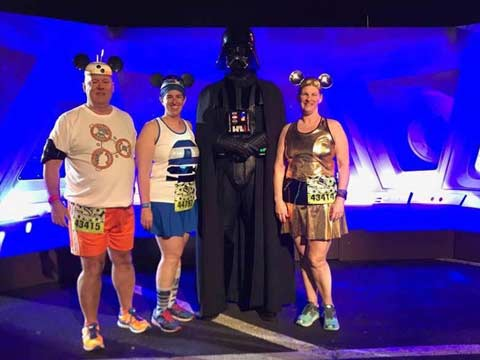 Star Wars Half Marathon - The Dark Side Darth Vader