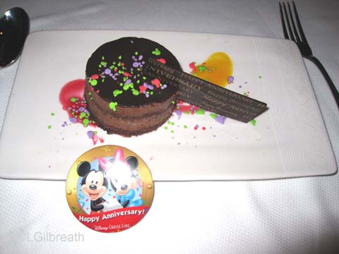Disney Fantasy Maiden Voyage - The  Food, Part 3