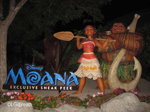 Disney California Adventure Moana preview