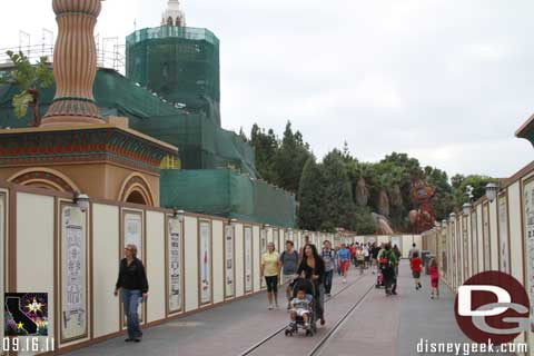 Disneyland Resort Photo Update - 9/16/11 Part 2