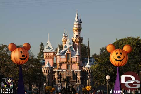 Disneyland Resort Photo Update - 10/28/11