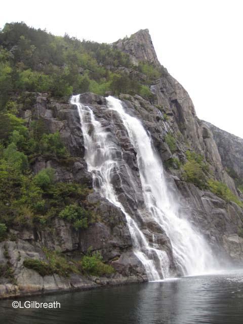 Hengjane Fall Lysefjord Stavanger Norway
