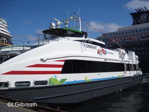 Fjordfart boat Stavanger Norway