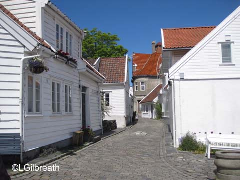 Stavanger houses Norway