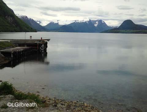 Romsdahl fjord, Norway