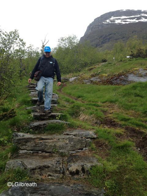 Geiranger Storseterfossen trail