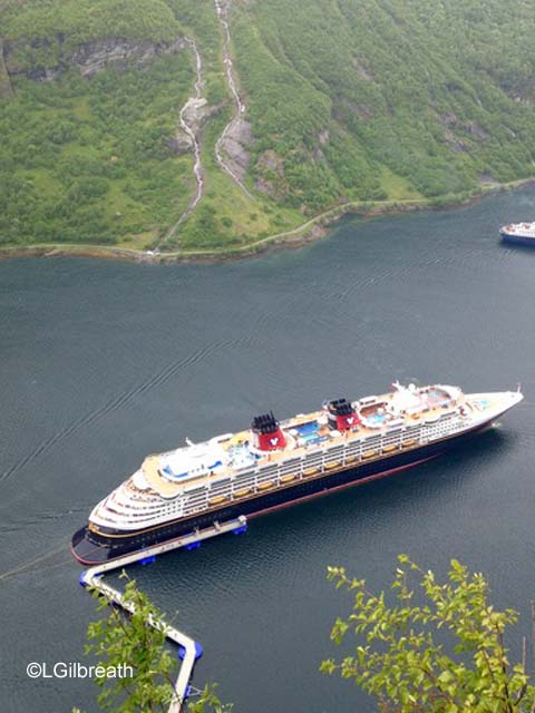 Disney Magic in Geiranger