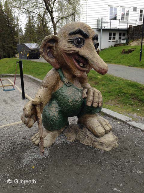 Troll on Mt. Floyen