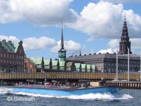 Copenhagen Canal Boat