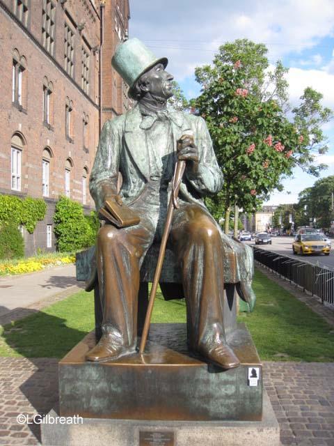 Copenhagen Hans Christian Andersen statue