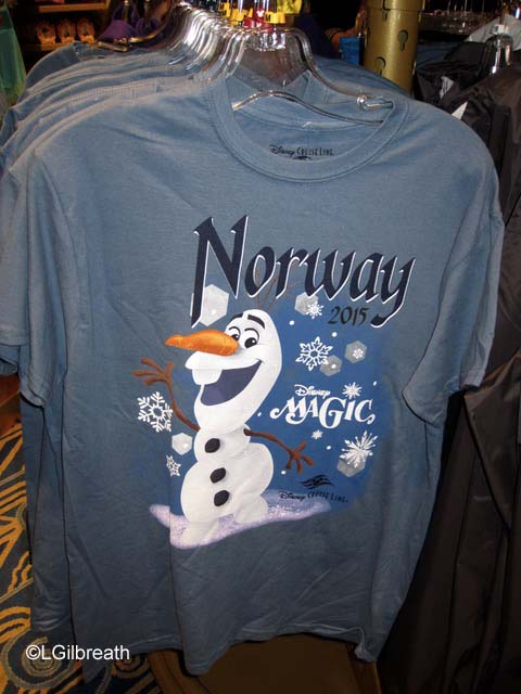Disney Magic Norway Cruise merchandise