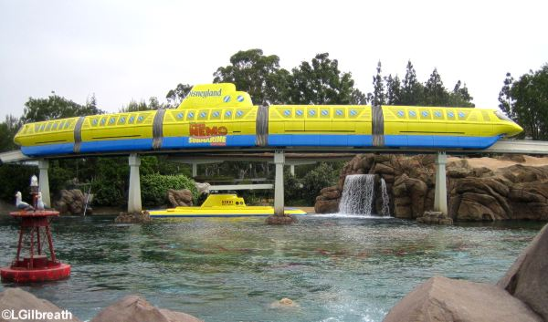 Monorail and sub lagoon
