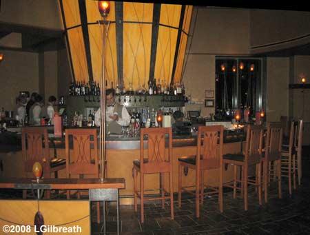 Napa Rose - Bar area
