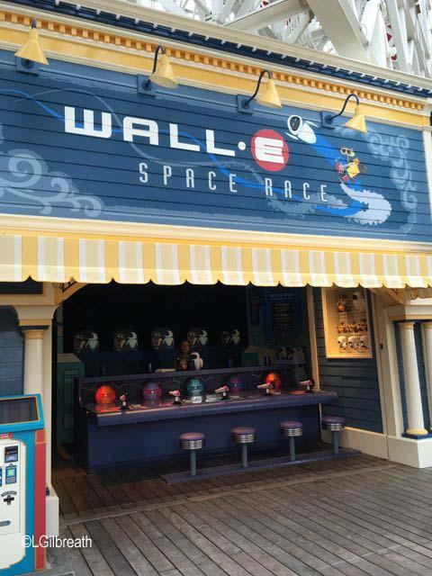 WALL-E Space Race