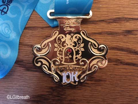 Princess Half Marathon 10K medal