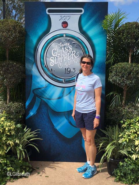 Princess Half Marathon Glass Slipper Challenge medal