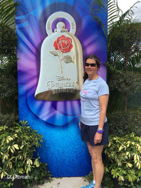Princess Half Marathon medal