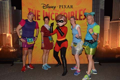 Princess Half Marathon Mrs Incredible