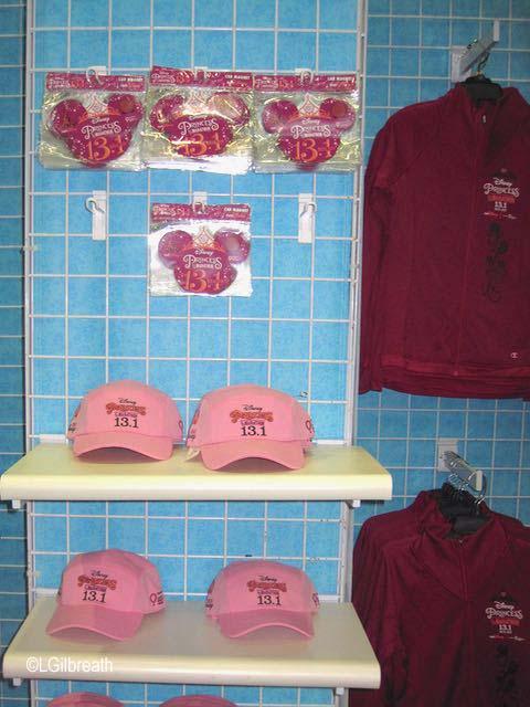 2017 Princess Half Marathon Merchandise