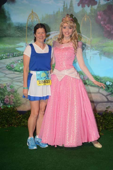 2017 Princess Half Marathon Aurora
