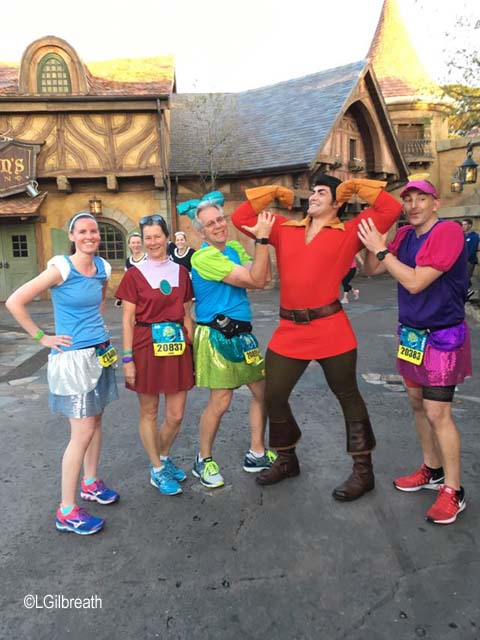 Princess Half Marathon Gaston