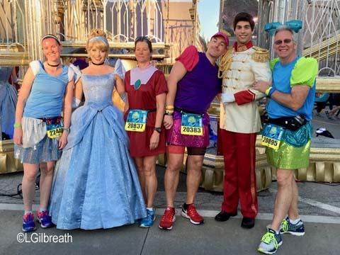 Princess Half Marathon Cinderella