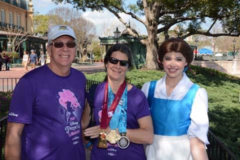 Princess Half Marathon Belle
