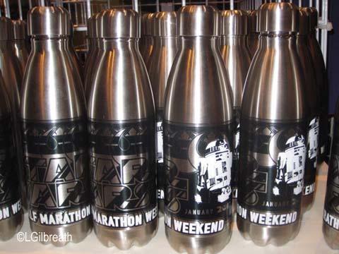 Star Wars Half Marathon water bottle