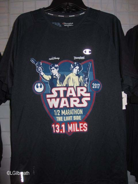 Star Wars Half Marathon Han/Leia shirt