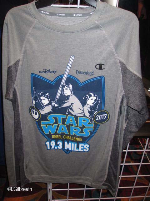Star Wars Half Marathon shirt