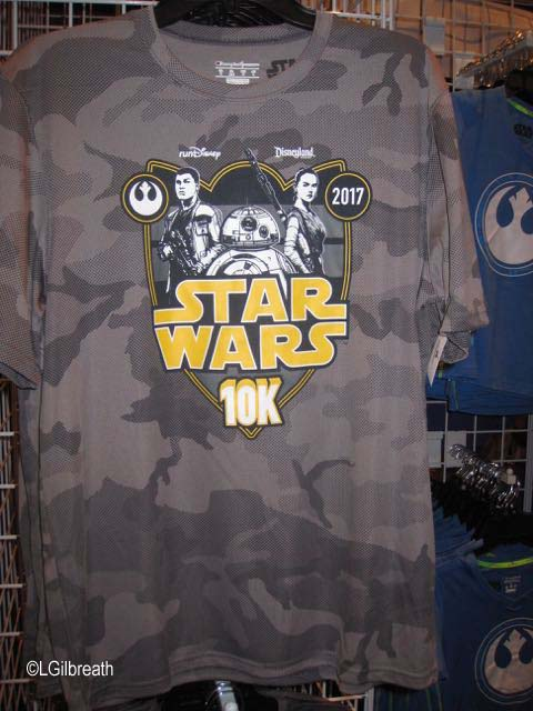 Star Wars Half 10K shirt