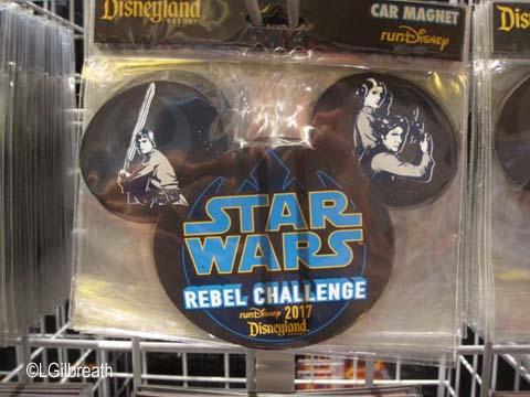 Star Wars Half Marathon magnet
