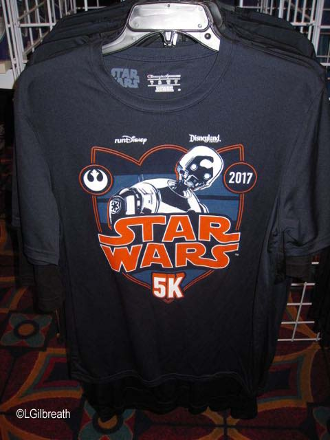 Star Wars 5K shirt