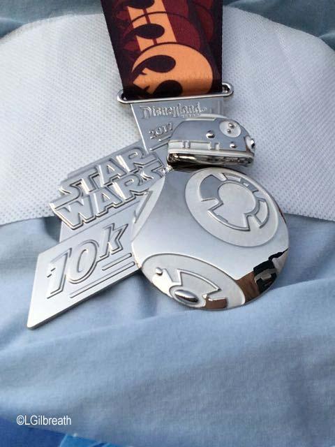 Star Wars 10K BB-8 Medal