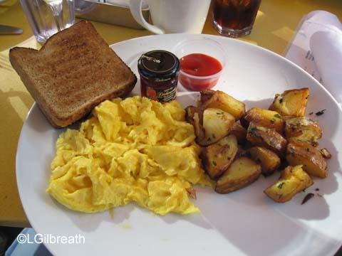 UVA Bar Two Organic Eggs Breakfast