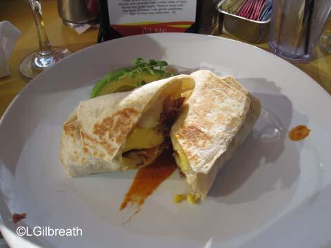UVA Bar Breakfast Burrito