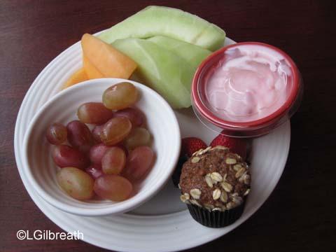 Flo's Breakfast Fruit Plate
