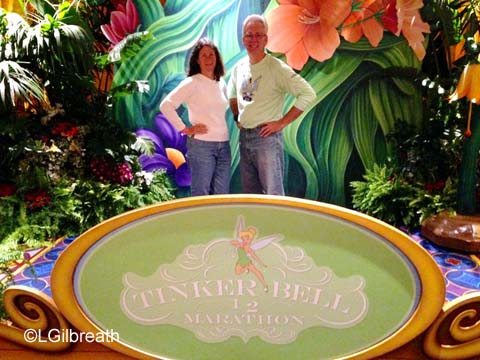 2015 Tinker Bell Half Marathon photo backdrop