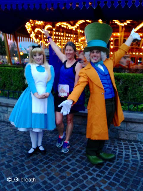 2015 Tinker Bell 10K Alice and Mad Hatter