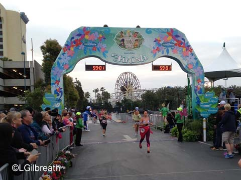 2015 Tinker Bell 10K Finish Line