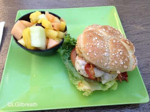 Teriyaki Chicken Sandwich tangaroa terrace