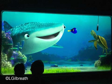 Turtle Talk with Crush and Finding Dory
