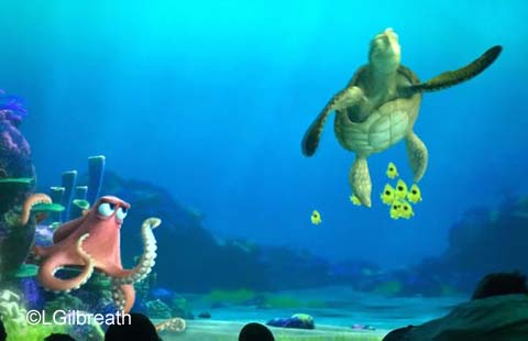 Turtle Talk with Crush and Dory
