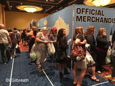 2016Tinker Bell Half Marathon Expo Merchandise Line