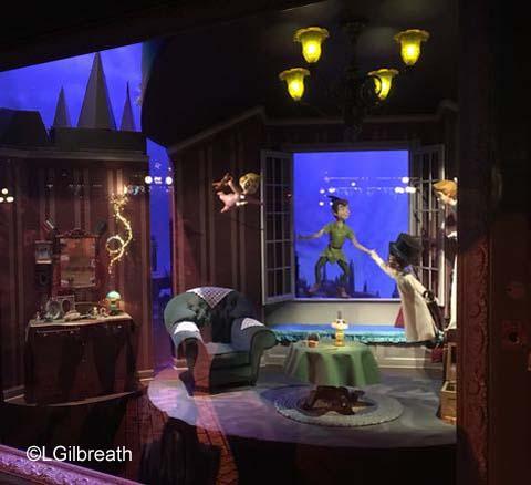 2016 Disneyland Peter Pan Enchanted Window